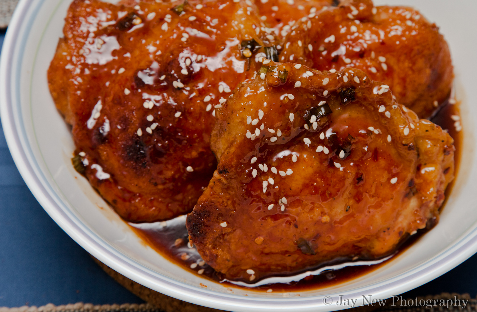 Spicy Orange Chicken Thighs Samina Cooks