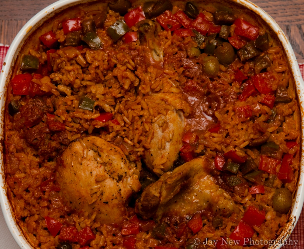 Baked Chicken and Brown Rice-Gluten Free (2/2)