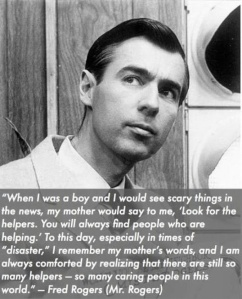 look for the helpers